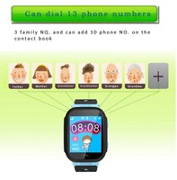 New Popular GPS tracker LBS SOS 3G cell Phone calls Wifi Android kids smart watch Q528 for baby children