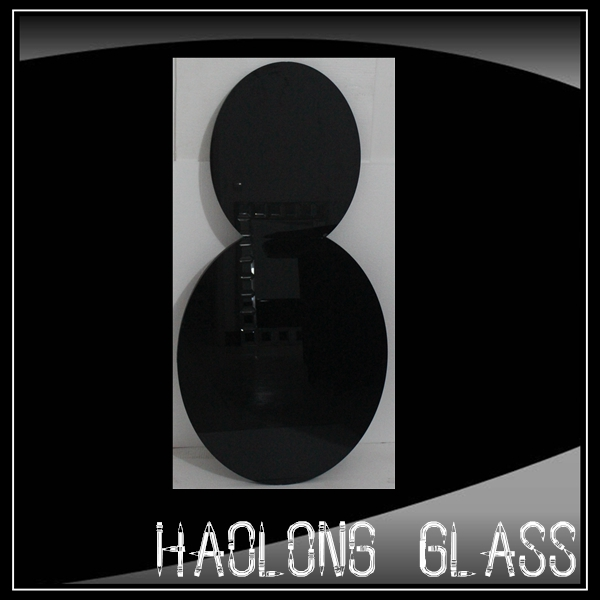 black round mirror glass/decorative colour mirrors