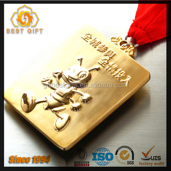 School student competition souvenir custom medal