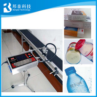 Automatic Online Coding and Marking Machine for Glass and Metal,Auto Inkjet Code Printer Machine for Batch Production