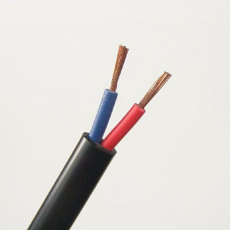 China best price <strong>H05VV</strong>-F Flexible PVC Insulated 2x6mm2 Power <strong>Cable</strong>