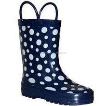 2014 cute and cartoon print fashion children rubber boots