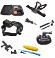 7in1 Accessories Set for Go pro Hero2 3 3+ Head/ Chest / Wrist Strap Monopod,sj4000 camera accessories