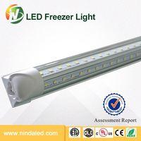 Buy DLC UL CUL approved 6 feet Cooler Led Light V shape 6 feet led ...