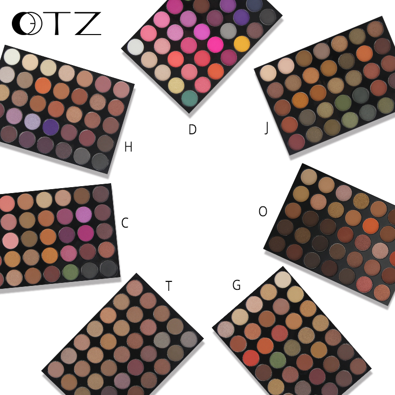 Highest demand products private label cosmetics 35 color private label eyeshadow palette