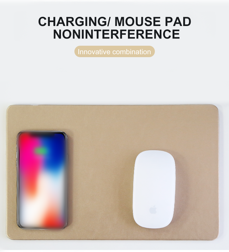New A9 phone usb fast wireless charging mouse pad wireless charger