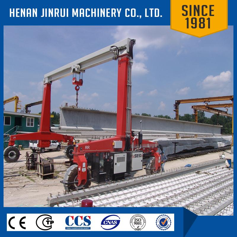 Rubber Tyred Gantry Cranes Translate : Ton rubber tyre gantry crane for lifting precast