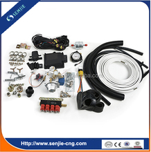 Auto fuel cng gas conversion kit 4cyl sequential