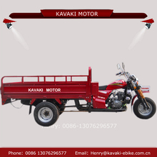 Kavaki motor manufacture selling150cc four rear wheel open body heavy loading motorcycle