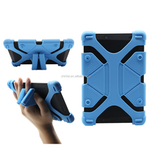 Shockproof Silicone Case for Tablet Popular Universal Tablet Case with Innovate Button Design to Achieve the Stand Function