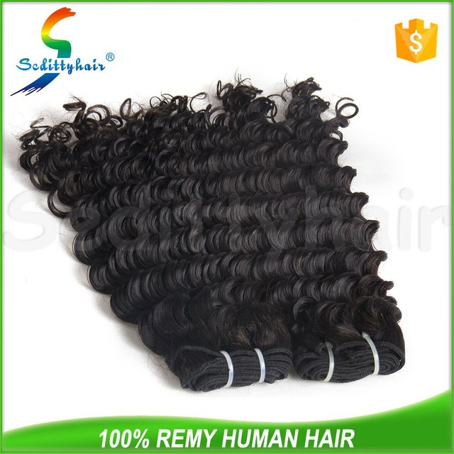 wholesale 8A quality alibaba human hair deep wave peruvian hair wet and wavy