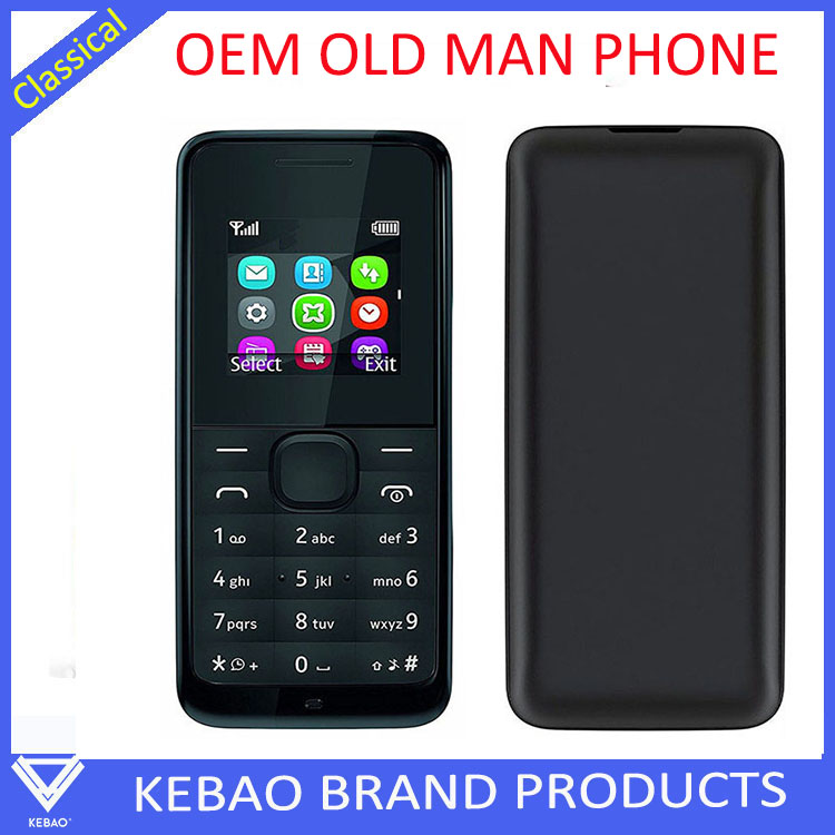 Alibaba express Low cheapest feature KEBAO mobile phone 1202, feature phone with keyboard