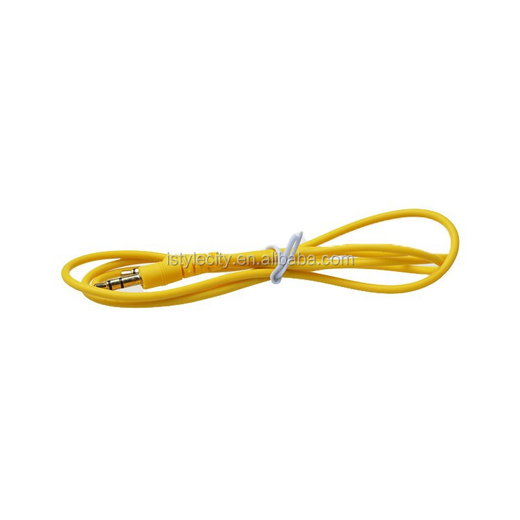 3.5mm Car Aux Audio Cable for mobile phone