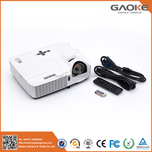 Factory price 1920*720 resolution mobile multimedia laser short throw projector