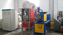 pe pp plastic film dewatering squeezing dryer machine