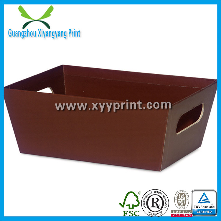 Be Luxury New Design Customized Paper Market Tray Boxes