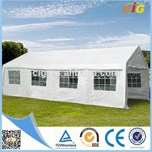 Weather-resistant Attractive transparent marquee wedding party tent 6x12