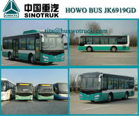 Widely Used in China City 35 Seats Plastic Seats Low Floor City Bus