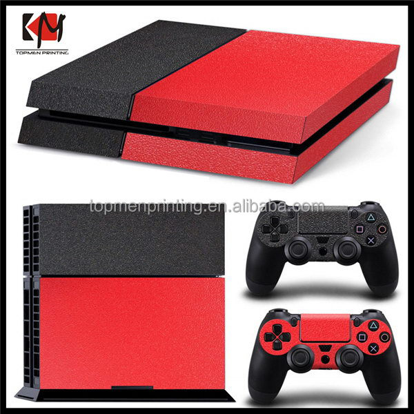 Popular latest skin sticker for ps4 vinyl