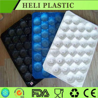Disposable soft plastic fruit tray