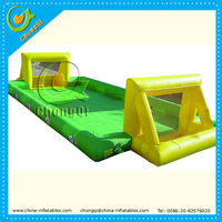 hot selling inflatable football court,inflatable water football court,inflatable football pitch for sports competition