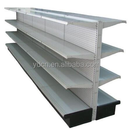 USA Metal commercial gondola supermarket steel shelf