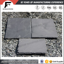 Wholesale building material black slate stone roof shingle patterns