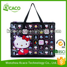 Cheap recycled custom printing grocery tote shopping pp woven bag