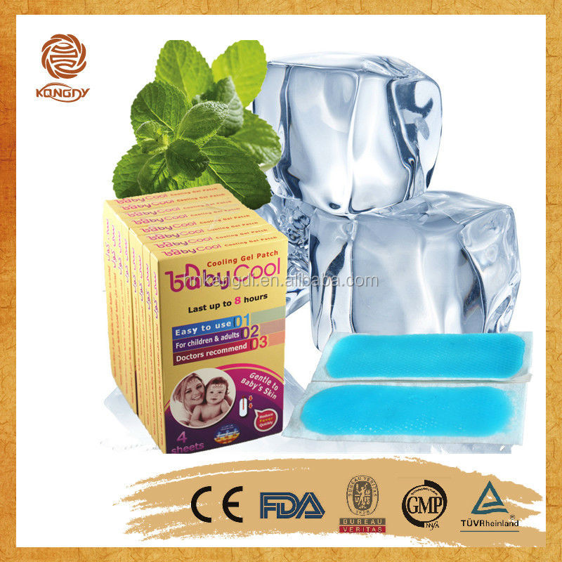 free samples gel fever reduce patch medcial device