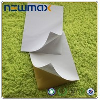 Semi glossy paper sticker for medicine label in cartons packing