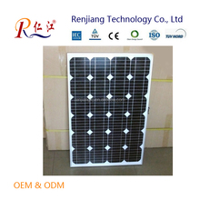 Monocrystalline Silicon Material and 1200*541*35mm Size 75wp Photvoltic Solar Panel