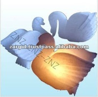 Hand Carved Dove Shape White Himalayan Crystal Salt Lamps