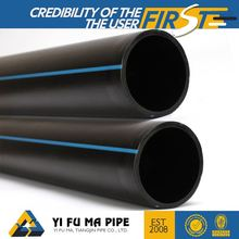 High quality hdpe100 solid wall hdpe potable water pipe