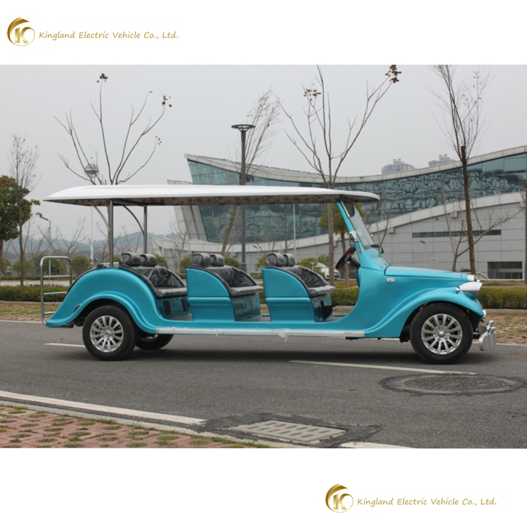 tourist car for golf courses upscale clubs 8 seats high quality CE classic electric car