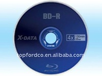 OEM brand 25GB 6x blue ray disk 50cake packing