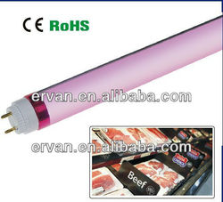 Pink color LED bulb zhongtian for meat display