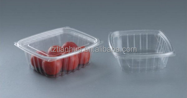 New product quality transparent pet plastic fruit punnet