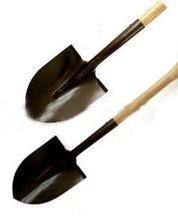 Hand Tools for Agriculture Use Varnished Wood Shovel Handle