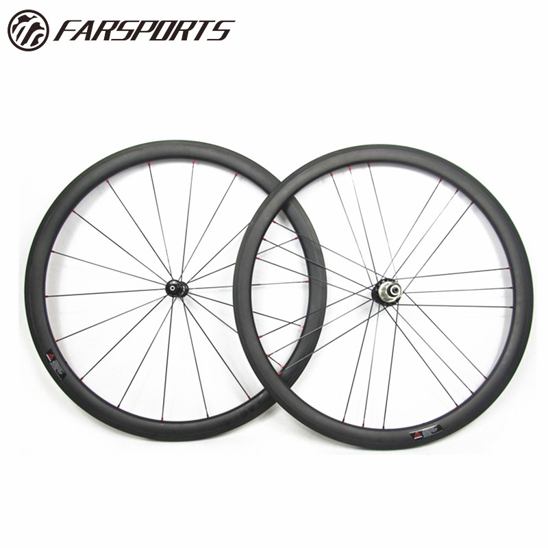 Powerway road wheelsets 38mm 25mm aero <strong>U</strong> shape with Sapim cx-ray spokes, aero bladed shape 20H/24H 700C