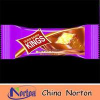 China manufacturer chocolate wrapping paper, aluminum foil laminated paper bag NTP- ALF115B
