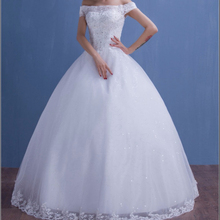 Z91770A High Quality Appliqued Princess Wedding Dresses / Real Photos Hot Sale Wedding Dresses