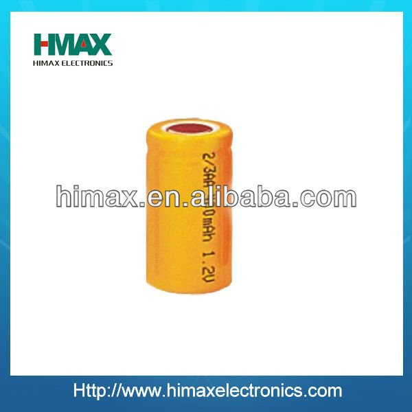 china manufacturer nicd 2 3 aaa 1.2v 400mah