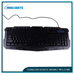 Multimedia wired gaming keyboard ,h0ttb illuminated keyboard for sale