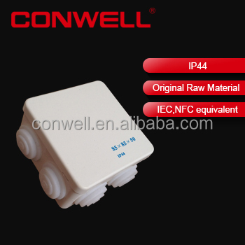 waterproof plastic enclosure box multimedia connection box