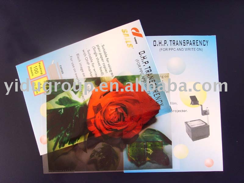 Inkjet transparent holographic lamination film
