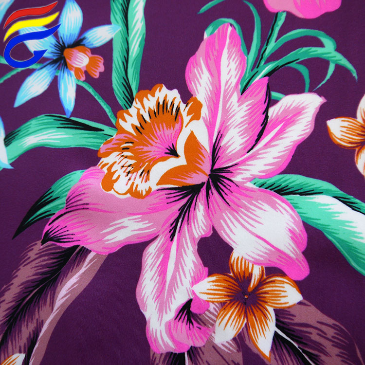 Hot <strong>sale</strong> 200gsm nylon spandex digital printing fabric