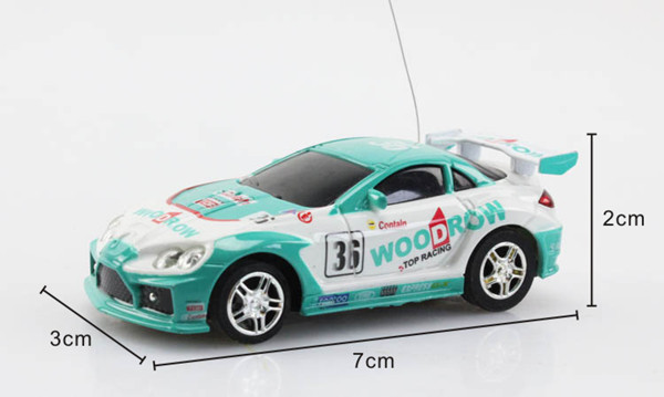 Beautiful 1/67 scale RC metal car model