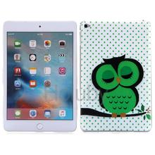 Factory Bulk sell Color Painting Soft TPU Back Cover Case for iPad Mini 4 shell