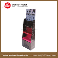 Eco-friendly FSDU cardboard display stand, free stand display units,POS display
