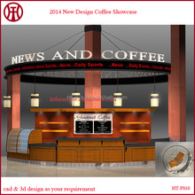 Best quality mall coffee kiosk booth design for sale